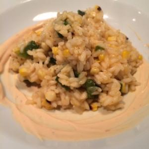 corn-poblano-risotto