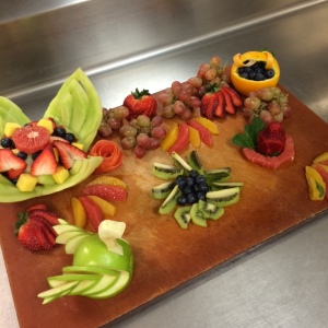 Team fruit platter 1